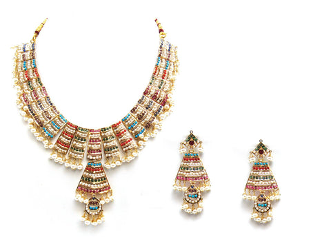 65.50g 22Kt Gold Jarou Necklace Set - 2076