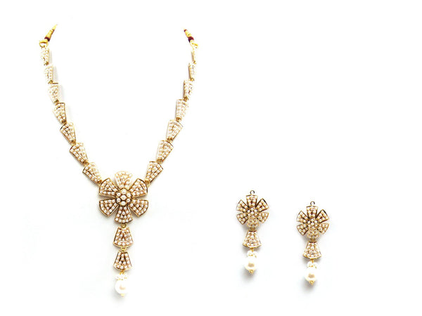 32.80g 22Kt Gold Jarou Necklace Set - 2089