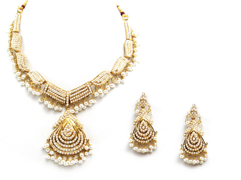 59.70g 22Kt Gold Jarou Necklace Set - 2094