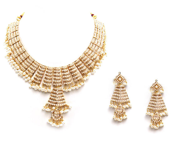 71.15g 22Kt Gold Jarou Necklace Set - 2095