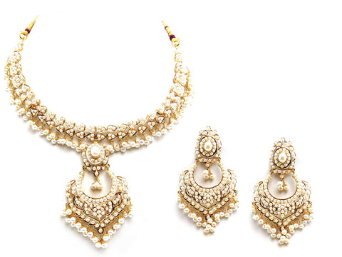 66.40g 22Kt Gold Jarou Necklace Set - 2097