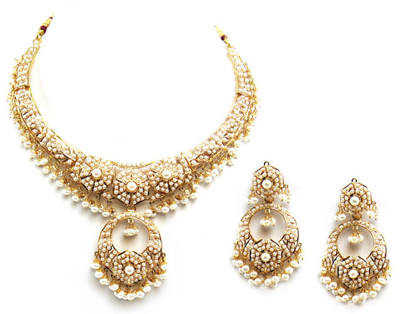 64.75g 22Kt Gold Jarou Necklace Set - 2099