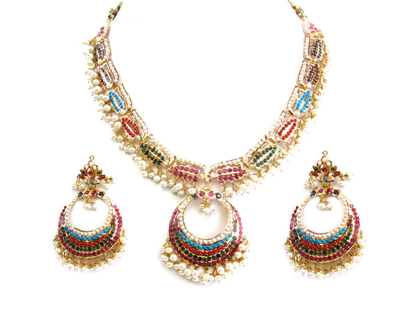 70.50g 22Kt Gold Jarou Necklace Set - 211