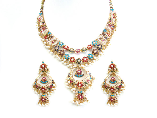 67.45g 22Kt Gold Jarou Necklace Set - 215