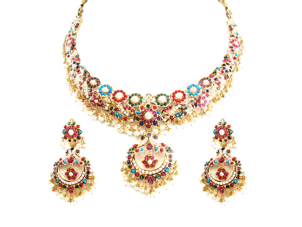 68.05g 22Kt Gold Jarou Necklace Set - 219