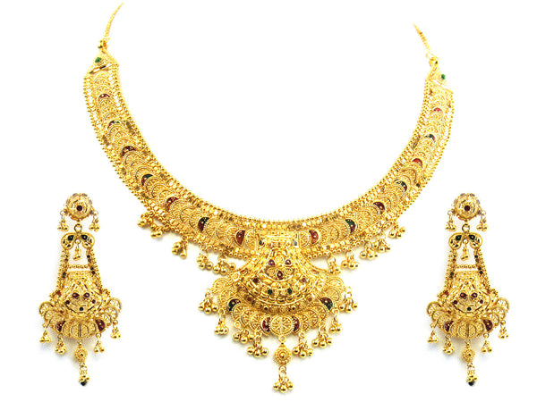 59.90g 22kt Gold Yellow Necklace Set - 151