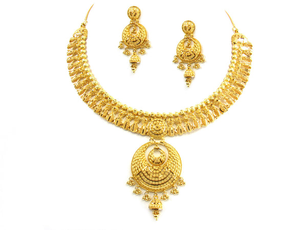 69.90g 22kt Gold Yellow Necklace Set - 155