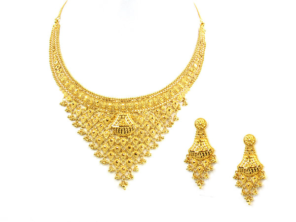 59.30g 22kt Gold Yellow Necklace Set - 156