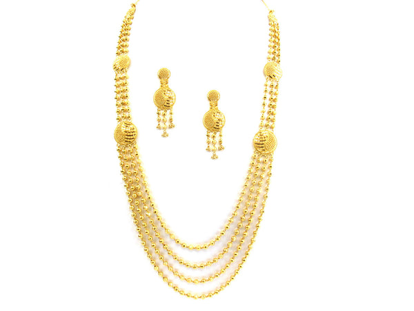 73.60g 22kt Gold Yellow Necklace Set - 161