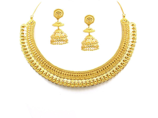 69.10g 22Kt Gold Yellow Necklace Set - 1775