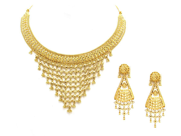 59.80g 22Kt Gold Yellow Necklace Set - 1788