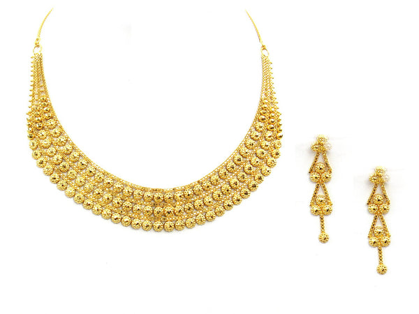 30.30g 22Kt Gold Yellow Necklace Set - 2016