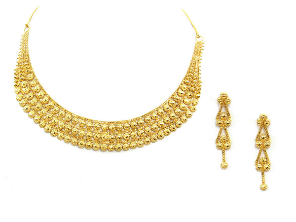 28.80g 22Kt Gold Yellow Necklace Set - 2017