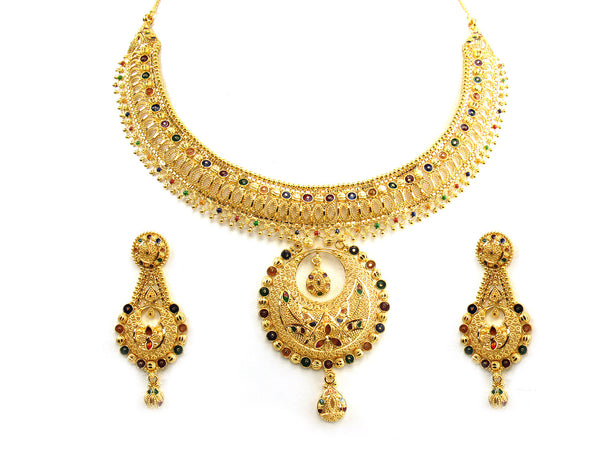 69.30g 22Kt Gold Yellow Necklace Set - 221