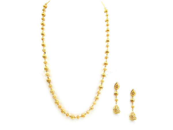 51.20g 22Kt Gold Yellow Necklace Set - 250