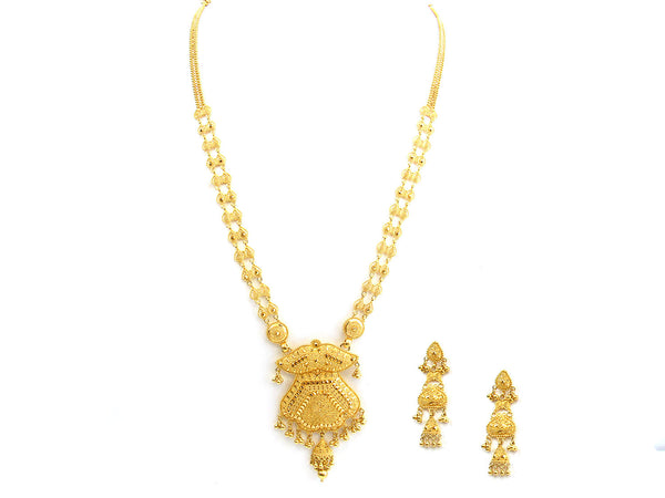 0.20g 22Kt Gold Yellow Necklace Set - 282