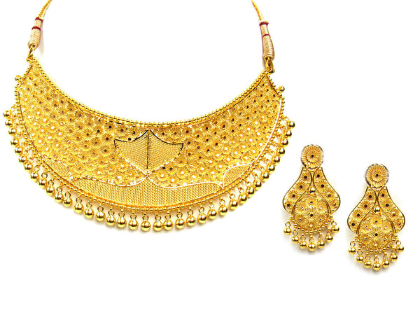 60.10g 22Kt Gold Yellow Necklace Set - 294