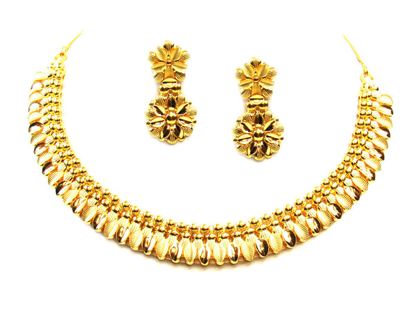 35.30g 22Kt Gold Yellow Necklace Set - 299