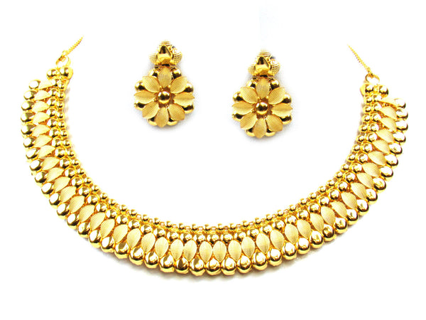 32.90g 22Kt Gold Yellow Necklace Set - 300