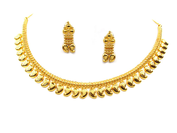 21.20g 22Kt Gold Yellow Necklace Set - 302