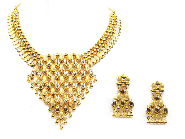 42.70g 22Kt Gold Yellow Necklace Set - 315