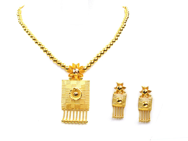 32.40g 22Kt Gold Yellow Necklace Set - 318