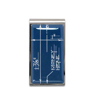 Acme Studio Blueprint Money Clip A2CB01MC