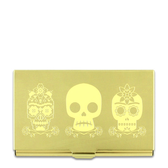 ACME Studio 3 Skulls Business Card Case C2FK06BC