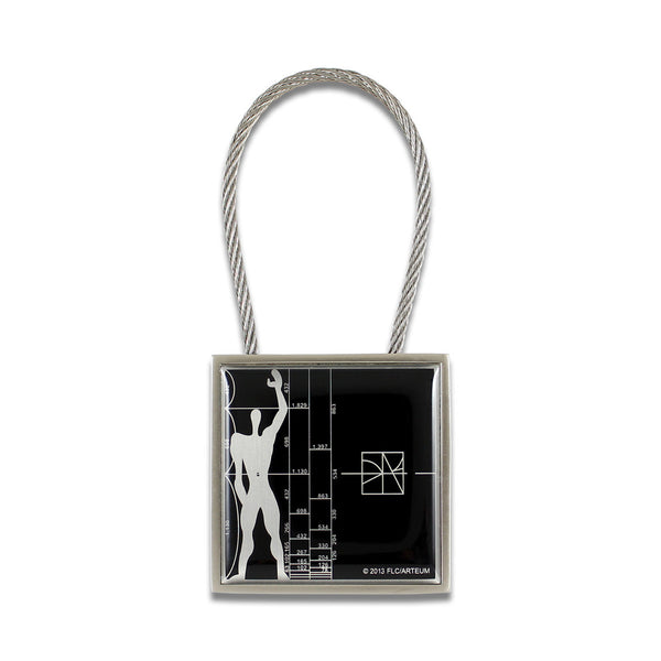 Le Modulor/Figure Key Ring