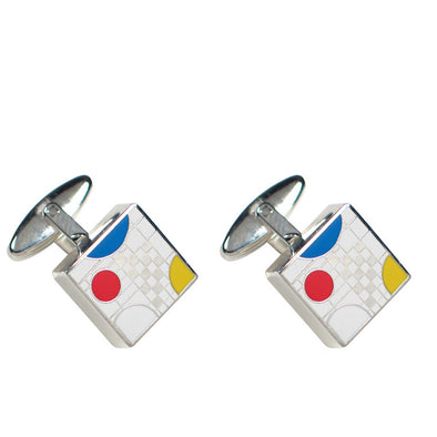 Acme Studio Playhouse White Cufflinks A1W58C