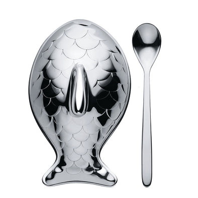 Alessi Columbina Fish Salt Cellar FM24