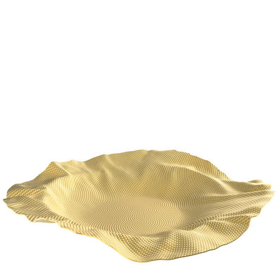 Alessi Extra Ordinary Metal Collection Port Basket Brass 90085 BR