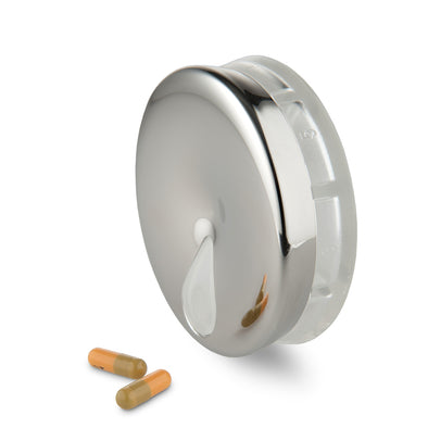 Alessi YoYo Pill Box Stainless Steel BM08