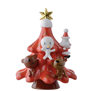 Alessi XMas Friends Red AMGI51R
