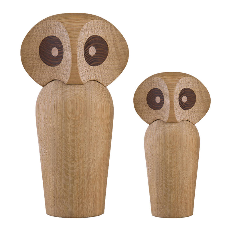 Architectmade Owl Natural Oak large and small