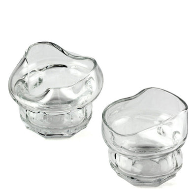 Barbuzzo Charred Whiskey Glasses