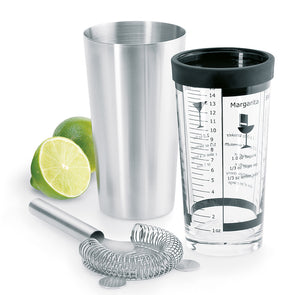 Lounge Boston Cocktail Shaker Set