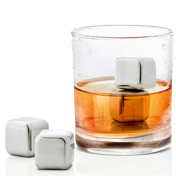 Bloumus Lounge Stainless Steel Ice Cubes 63539