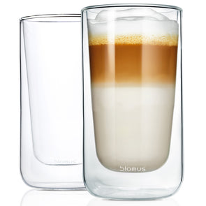 Blomus Nero Thermo Latte Glasses