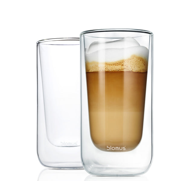 Blomus Nero Thermo Capuccino Glasses