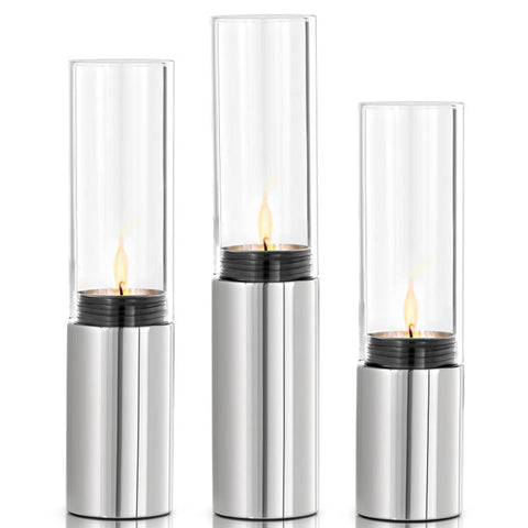 Blomus Faro Tealight Set polished