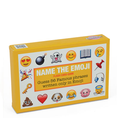 Name the Emoji Flash Card Game