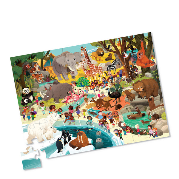 Day at the Zoo Puzzle