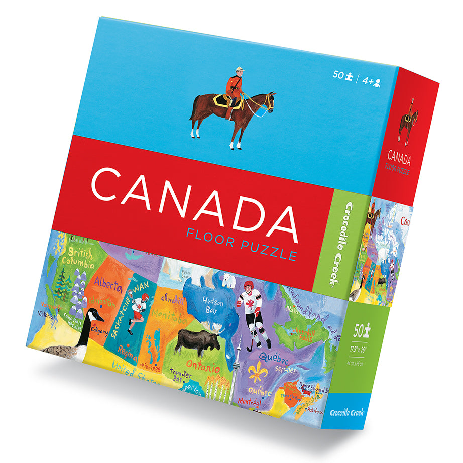 Map Of Canada Puzzle.Map Of Canada Floor Puzzle