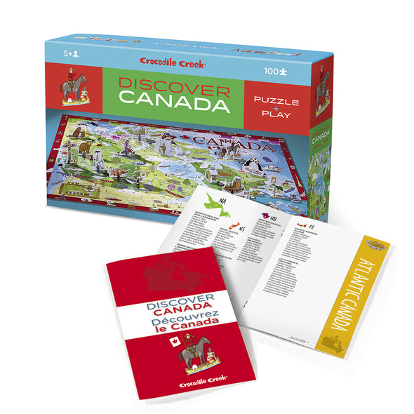 Crocodile Creek Discover Canada Puzzle + Play 2920-5