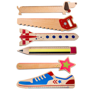 Donkey Products Funky Rulers