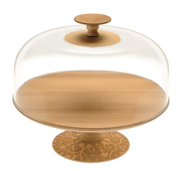 Alessi Cake Stand and Cover MW25 and MW25