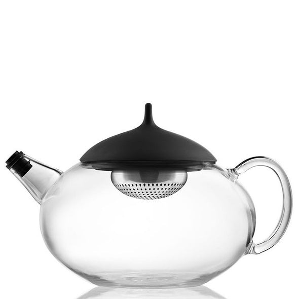 Glass Teapot with Tea Egg