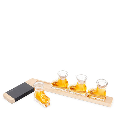 Hockey Shot Glass Flight Set