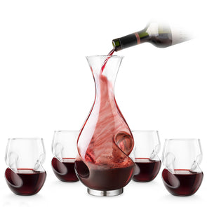 L'Grand Conundrum Aerator Decanter Set
